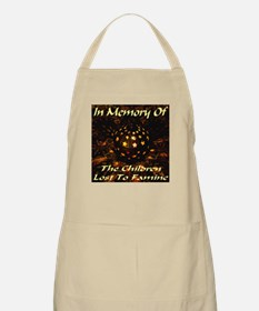 In Memory Of The Children Los BBQ Apron