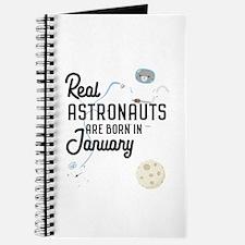 Astronauts are born in January C09e7 Journal