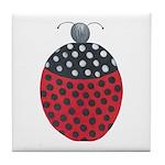 ALD-LADYBUG2 Tile Coaster