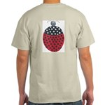 ALD-LADYBUG2 Ash Grey T-Shirt