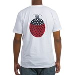 ALD-LADYBUG2 Fitted T-Shirt