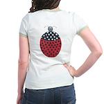 ALD-LADYBUG2 Jr. Ringer T-Shirt