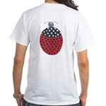 ALD-LADYBUG2 White T-Shirt