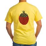 ALD-LADYBUG2 Yellow T-Shirt