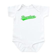Retro Brenton (Green) Infant Bodysuit