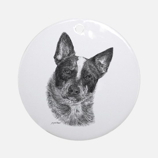 Australian Cattle Dog - George Ornament (Round)