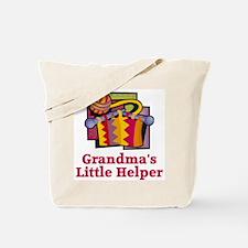 Grandma's Helper Knitting Tote Bag