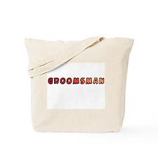 Sunset Groomsman Tote Bag