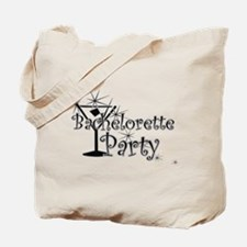 Black C Martini Bachelorette Tote Bag