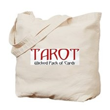 TAROT Wicked Pack of Cards Tote Bag