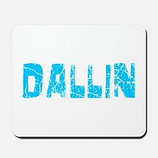 Dallin Faded (Blue) Mousepad