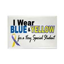 I Wear Blue & Yellow....2 (Special Student) Rectan