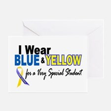 I Wear Blue & Yellow....2 (Special Student) Greeti