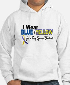 I Wear Blue & Yellow....2 (Special Student) Hoodie