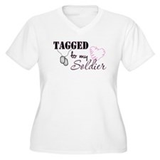 Tagged To My Soldier T-Shirt