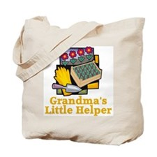 Grandma's Helper Gardening Tote Bag