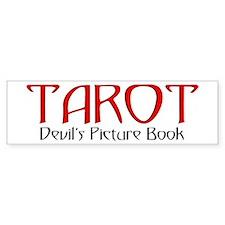 TAROT Devil's Picture Book Bumper Bumper Sticker
