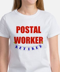 Retired Postal Worker Women's T-Shirt