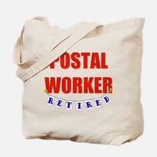 Retired Postal Worker Tote Bag