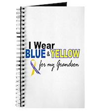 I Wear Blue & Yellow....2 (Grandson) Journal