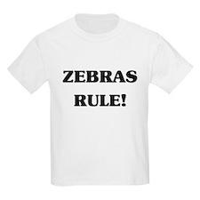 Zebras Rule T-Shirt