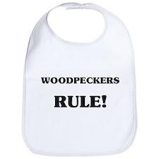 Woodpeckers Rule Bib