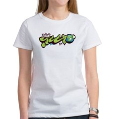 Think Green - Graffity Women's T-Shirt