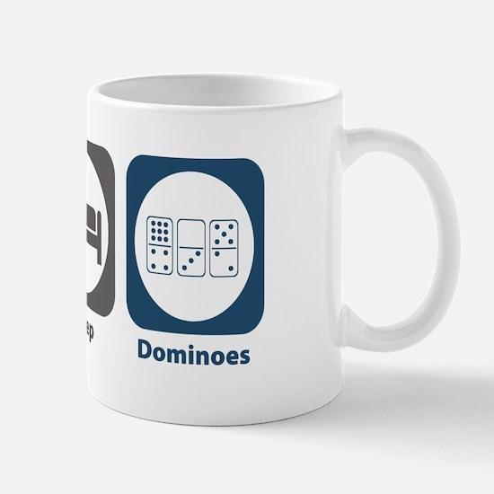 Eat Sleep Dominoes Mug