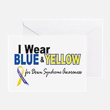 I Wear Blue & Yellow....2 (Awareness) Greeting Car
