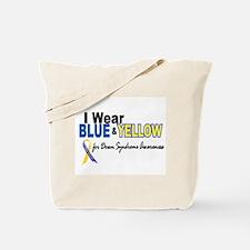 I Wear Blue & Yellow....2 (Awareness) Tote Bag