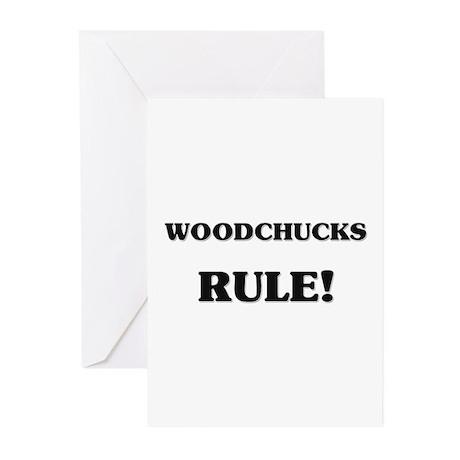Woodchucks Rule Greeting Cards (Pk of 10)