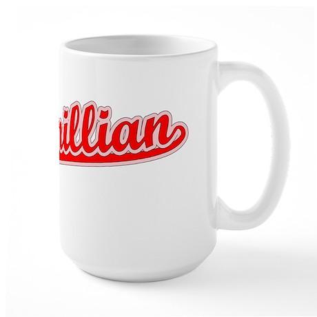 Retro Maximillian (Red) Large Mug