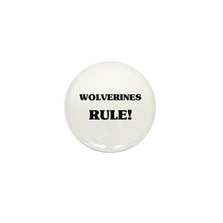 Wolverines Rule Mini Button (10 pack)