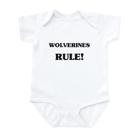 Wolverines Rule Infant Bodysuit