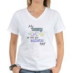 My Brother is . . . Women's V-Neck T-Shirt