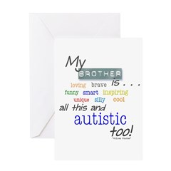 My Brother is . . . Greeting Card