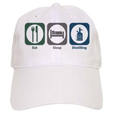 Eat Sleep Distilling Baseball Cap
