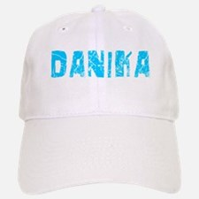 Danika Faded (Blue) Baseball Baseball Cap