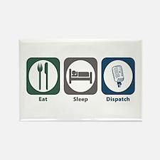 Eat Sleep Dispatch Rectangle Magnet