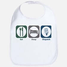 Eat Sleep Dispatch Bib