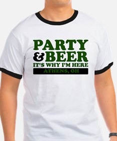 Party & Beer -Athens, OH- T