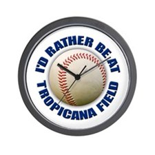 tropicana field Wall Clock
