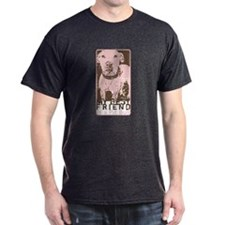 Vintage Best Friend Dark T-Shirt