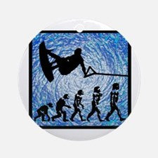 WAKEBOARD Round Ornament
