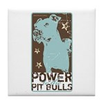 Pit Power Tile Coaster
