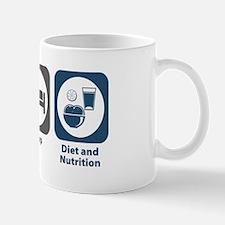 Eat Sleep Diet and Nutrition Mug