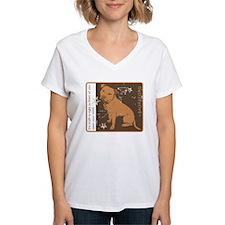 Open Your Mind Women's V-Neck T-Shirt