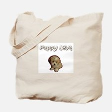 Puppy Love Tote Bag - Lhasa Apso