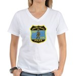 VA Beach PD SWAT Women's V-Neck T-Shirt