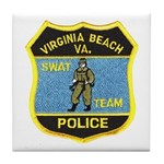 VA Beach PD SWAT Tile Coaster